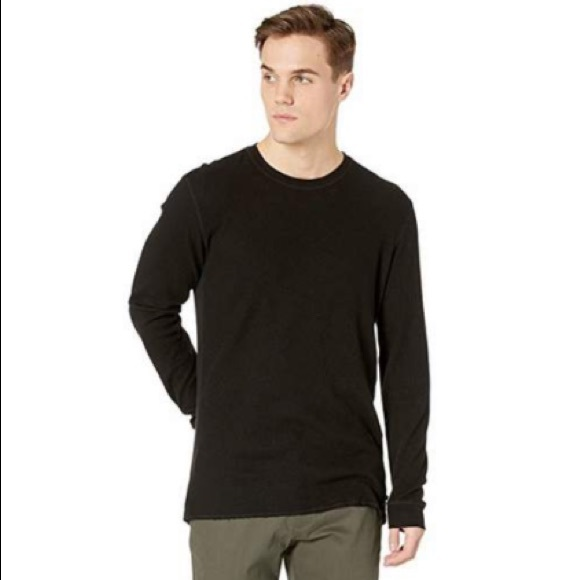 Ag Adriano Goldschmied Other - AG | Kipp Long Sleeve Blk Thermal Crew Neck Shirt